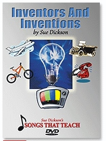 Inventors and Inventions DVD - Sue Dickson